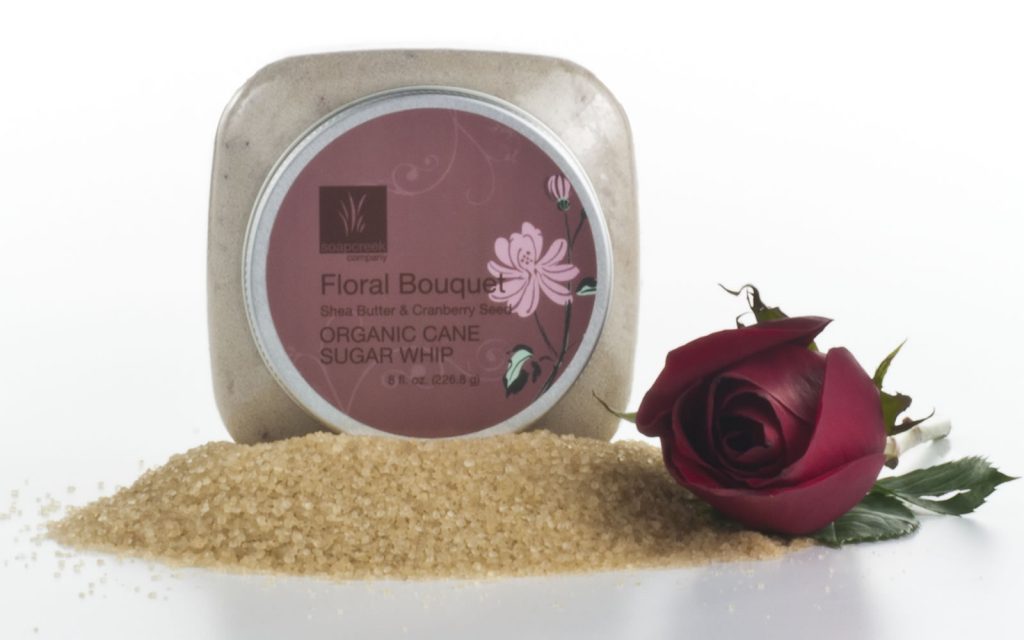 Floral Bouquet Cane Sugar Whip