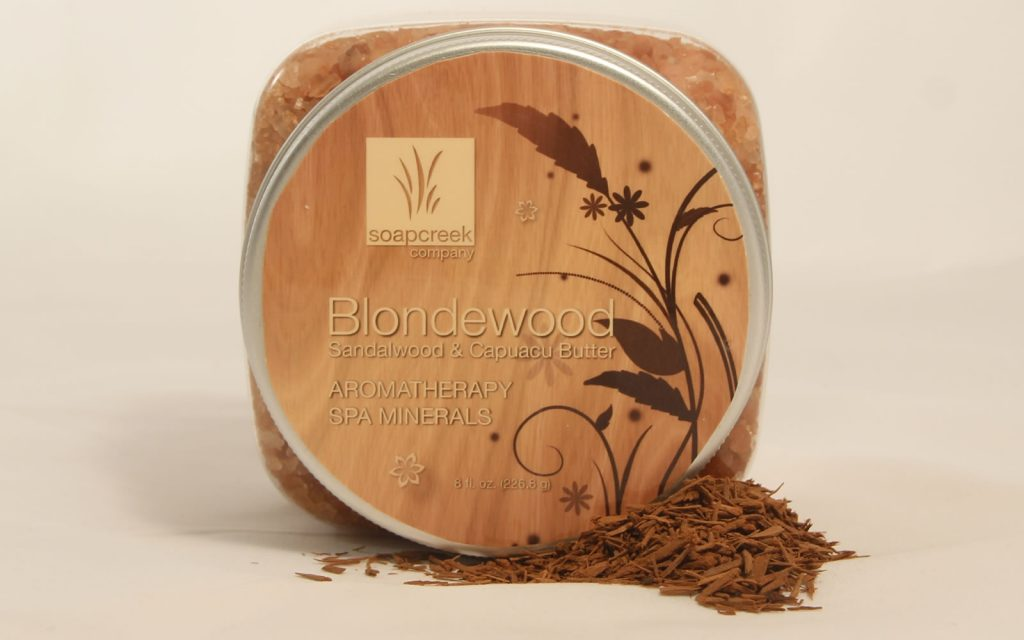 Blondewood Aromatherapy Spa Minerals