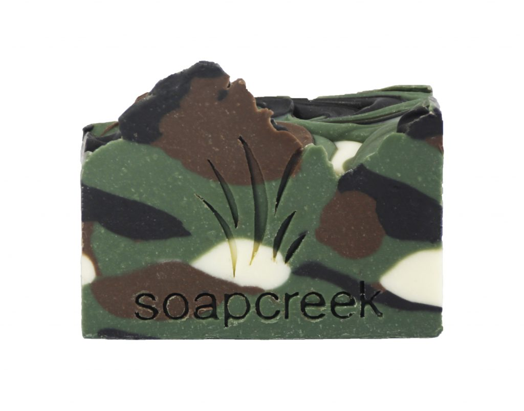 Green Camo Artisan Soap